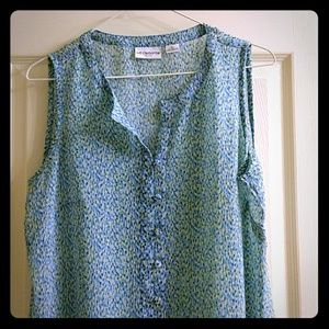 Liz Claiborne Sheer blouse